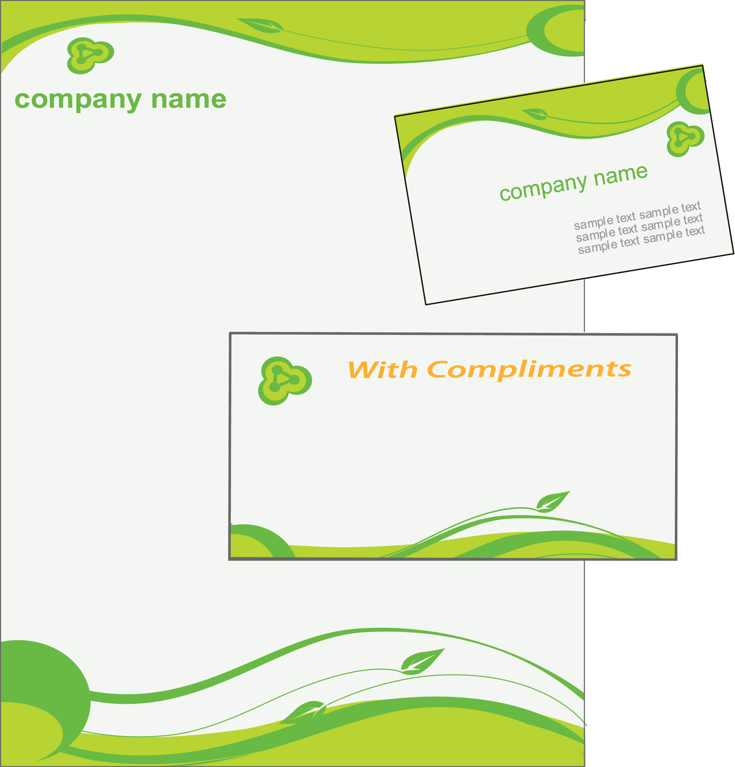 letterhead designing in erode creative colorful corporate branding